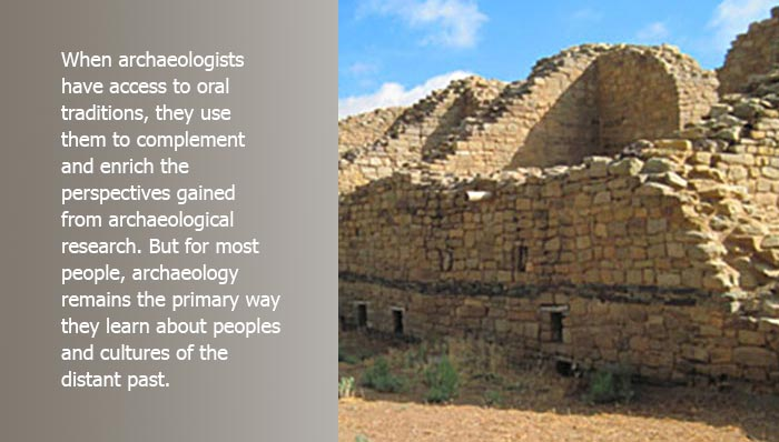 When archaeologists have